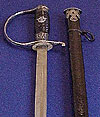 RARE SS POLICE NCO SWORD BY KREBS WITH SS RUNES TO POMMEL.