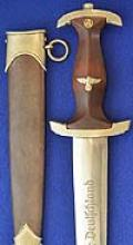 SA ROHM HONOR DAGGER BY EICKHORN WITH NEAR COMPLETE INSCRIPTION.