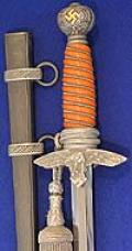 LUFTWAFFE 2MD MODEL DAGGER BY SMF IN MINT UNISSUED CONDITION.