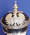 IMPERIAL GERMAN WW1 PRUSSIAN POLICE OFFICERS PICKELHAUBE HELMET.