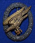 LUFTWAFFE PARATROOPERS WAR BADGE BY BSW.