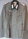 ARMY M36 MODEL ARTILLERY OFFICERS TUNIC.
