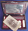 VICTORIAN BRITISH ARMY OFFICER CAMPAIGN DRESSING BOX.