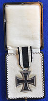RARE CASED WW1 IRON CROSS 2ND CLASS.
