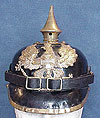 GERMAN WWI PRUSSIAN PICKELHAUBE HELMET.