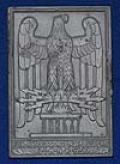 THIRD REICH ARMY AWARD PLAQUE.