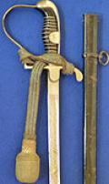 THIRD REICH ARMY NCO SWORD WITH TRIPPLE ENGRAVED BLADE BY KLASS AND COMPLETE WITH PORTEPEE.