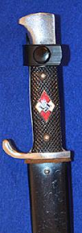 HITLER YOUTH KNIFE, NEAR MINT CONDITION.
