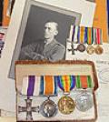 WW1 BRITISH MILITARY CROSS GROUP OF 5 AWARDS AND LARGE ARCHIVE TO CAPTAIN KINNERSLEY.