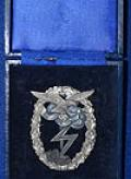 CASED LUFTWAFFE GROUND ASSAULT BADGE.