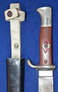 HITLER YOUTH PROTOTYPE KNIFE BY EICKHORN.