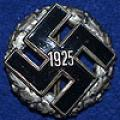 NSDAP 1925 GAU BADGE.