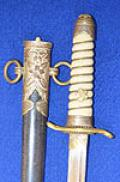 WW2 JAPANESE NAVAL OFFICERS DAGGER.