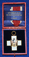 CASED GERMAN SOCIAL WELFAIR MEDAL BY GODET.